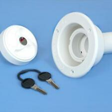 ZADI WATER TANK 40MM FILLER CAP WHITE motorhome caravan campervan horsebox
