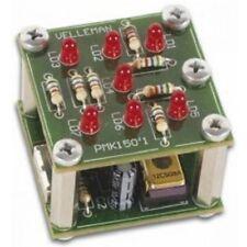 Velleman Mini-Kit MK150, Schüttel Würfel Bausatz, Elektro LED Spielwürfel