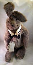 "Charleen Kinser Plush Floppy 24"" Maximilian the Rabbit c1980 NWT"