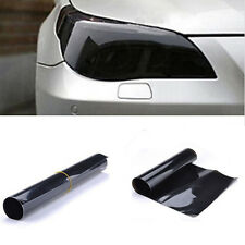 Black Car Headlight Tint Film Taillight Tail Wrap Fog Light Vinyl Films Sticker