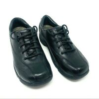 Dansko Size 41 Kip Shoes Black Lace Up Slip Resistant Comfort
