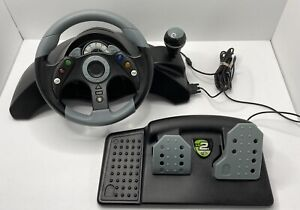 Mad Catz MC2 Racing Steering Wheel / Pedals / Gear Shift For XBOX 360 - 4720