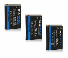 3x nb-5l Battery Pack per Canon PowerShot sx230 HS sx220 HS sx210 sd990 990 è