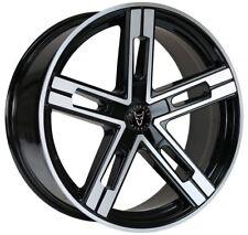 """20"""" VW T5 T6 ALLOY WHEELS & TYRES VW ALLOYS / TYRES WOLFRACE STUTTGART ALLOYS"""