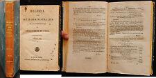 K/ RECUEIL DES ACTES ADMINISTRATIFS DÉPARTEMENT DE L'OISE 1829 Restauration