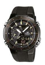 Casio Edifice reloj efa-131pb -1 avef analógico, digital negro