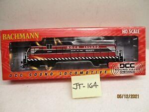 JT-164 Bachmann 65606 EMD GP7 Rock Island 1207 (DCC & Sound)
