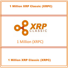 1 Million (1,000,000) XRP-Classic (XRPC) CRYPTO MINING-CONTRACT Crypto Currency