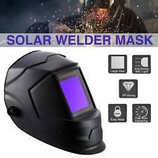 New listing Solar Powered Lithium Battery Welding Helmet Auto-darkening Li Battery Mig Tig