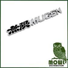 Mugen Grille Badge Honda Mugen Black