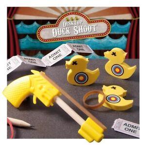 Office Desktop Duck Shoot Out Table Executive Toy Secret Santa Stocking Filler