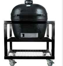 Primo Xl 400 PRM778 Ceramic Charcoal Smoker Grill On Cart With with Wheels #368