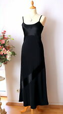Laura Ashley elegantes Abend-Kleid Crepe´ Satin Gr.38 NEUW