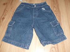 Kurze blaue Jeanshose - Gr. 86/92
