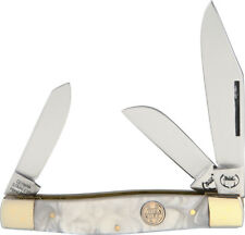 Buck Creek Big Diamond Back Cracked Ice Folding Knife BC-659CI