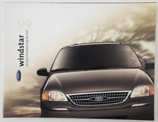 FORD WINDSTAR 1999 dealer brochure catalog - French - Canada