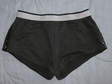 adidas by Stella McCartney Essentials Black Gym Run Knit Shorts SZ S NEW