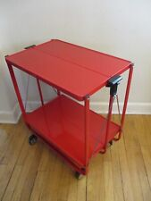 Louis Lucien Lepoix for FRZ Germany Kitchen Trolley Folding Bar Cart MoMA c1983