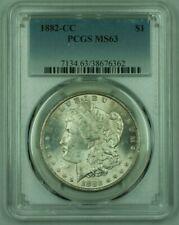 1882-CC Morgan Silver Dollar S$1 PCGS MS-63 Lightly Toned (26)
