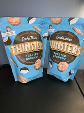 2-Pack Mrs. Thinster's Toasted Coconut Cookie Thins (16 Oz Size Bags)