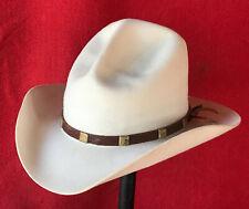 58093cf8a8258 7 1 8 Grady s Custom Cowboy Hats Texas 10-X Beaver New Mexico Movie