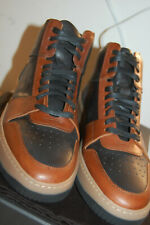 NIB Frye Wythe Court sneakers 9 M handcrafted $478 Redwood Made In Italy