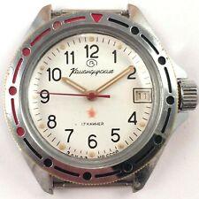 Soviet Vintage VOSTOK Komandirskie MO USSR WindUp Watch *US SELLER* #1382