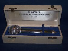 Vintage Beyer M260 ribbon microphone,mic,microfoon mikrofon microfono