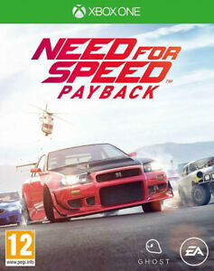 NEED FOR SPEED PAYBACK - XBOX ONE - NEW SEALED - SAME DAY DISPATCH