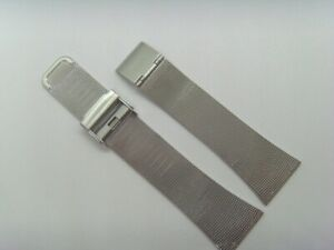 OBAKU Original Replacement Milanaise V102LXCCMC Watch Band Watch Strap Silver