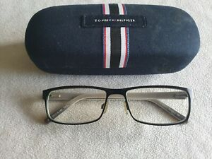 Tommy Hilfiger black glasses frames. TH 61. With case.
