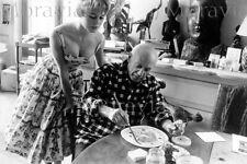 """Photographie,  """"Pablo Picasso et Brigitte Bardot"""",  Vallauris, 1956  /  15 x 20"""