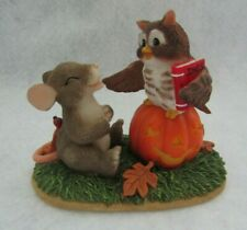 Fitz & Floyd Charming Tails Figurine What A Hoot ) Owl 85/101