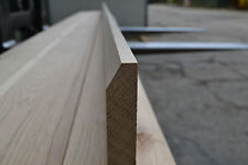 "Skirting Board 1x5"" PAR to Chamfer 20x120mm - Solid White Oak"