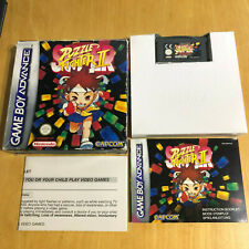 Super Puzzle Fighter II (2) Nintendo Gameboy Advance Game - Boxed