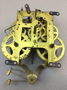 Antique GILBERT Spring Driven Clock Movement