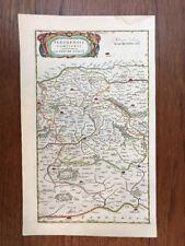 Carte ancienne BLAEU C. 1650 LA PERCHE
