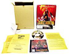 RARE DUKE NUKEM 3D BIG BOX GAME FOR PC IBM CD BIGBOX GAME GAMING COLLECTOR +FP!