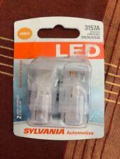 Sylvania 3157A Amber Led Automotive Mini Bulb, Pack Of1