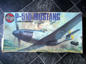Airfix 1/24 P-51D Mustang, Most Parts Off Sprues