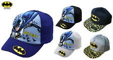 NEW BOYS BATMAN HIP HOP CAP SIZE 52, 54 & 56 AGE 4-14 YEARS GOOD QUALITY