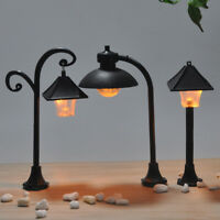 1pc street lights craft figurine garden ornament miniature fairy garden decor 3C