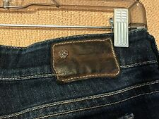 "Silver Jeans Suki size 28-34 waist 28"" low rise inseam 26.5 boot stretch whisker"