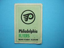 1969/70 O-PEE-CHEE 4-IN-1 MINI STAMP ALBUM PHILADELPHIA FLYERS NHL BOOKLET OPC
