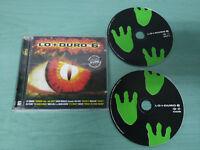 LO + MAS DURO 6 - 2 X CD MAX MIX MUSIC 1997 MEGAMIXDJ RED CAMISRA ABSOLOM