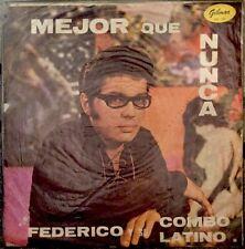 Federico Y Su Combo Latino Mejor Que Nunca Lp Rare Venezuela Guaguanco Boogaloo