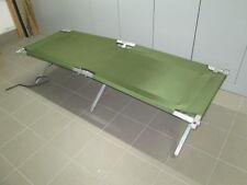 orig. US Army Aluminium Feldbett Nylon Bezug Feldliege Camping Bett