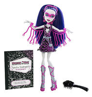 Monster High Spectra Vondergeist als POLTERGHOUL Power Ghoul EXKL US OVP Y7300