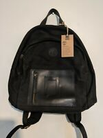 Authentic Timberland Canvas & Leather Bag Rucksack Backpack - New w/ Tags -