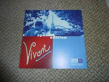 1998 Peugeot 306 Vivant Edition Sales Brochure. RARE. UK TEXT